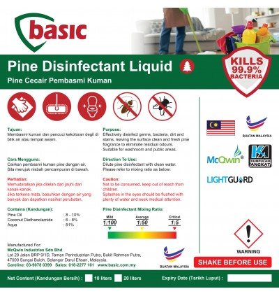McQwin Basic Liquid Pine Disinfectant