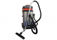 Wet / Dry Vacuum Cleaner (Twin Motor) c/w Stainless Steel Body