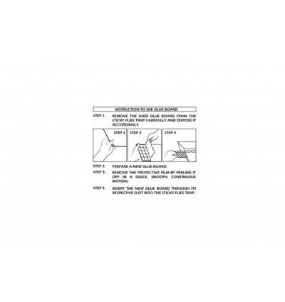 Sticky Glueboard - IGUANA & WATERWHEEL