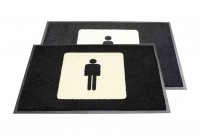 2ft x 3ft - Message Mat Toilet Signage