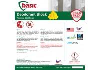 McQwin Basic Urinal Para Deodorant Block