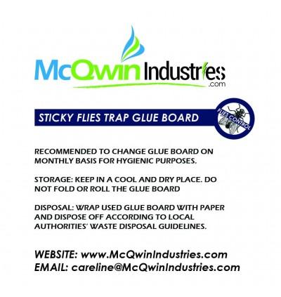 Original McQwin Sticky Glueboard - COLOSSUS