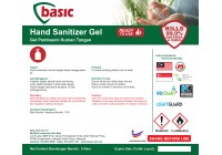 McQwin Basic Alcohol Based Gel Hand Sanitizer