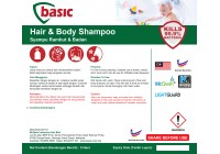 McQwin Basic Hair & Body Shampoo