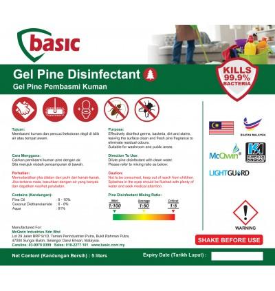 McQwin Basic Gel Pine Disinfectant