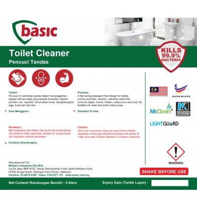 McQwin Basic Toilet Cleaner