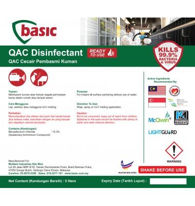McQwin Basic QAC Liquid Disinfectant RTU