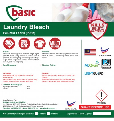 McQwin Basic Laundry Bleach