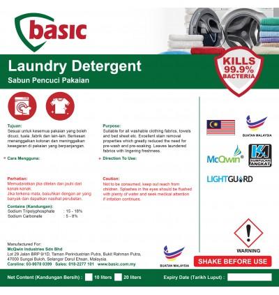 McQwin Basic Laundry Detergent