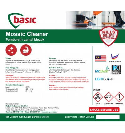 McQwin Basic Mosaic Cleaner