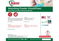 McQwin Basic Absorbing Powder (Vomit/Puke)