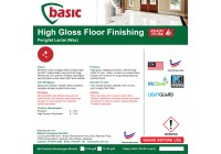 McQwin Basic High Gloss Floor Finishing