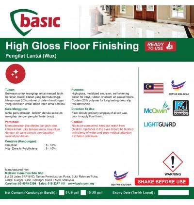 McQwin Basic High Gloss Floor Finishing