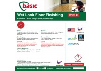 McQwin Basic Wet Look Floor Finishing With Sealer