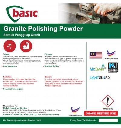 McQwin Basic Granite Polishing Powder