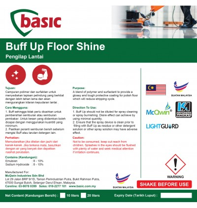 McQwin Basic Buff Up Floor Shine