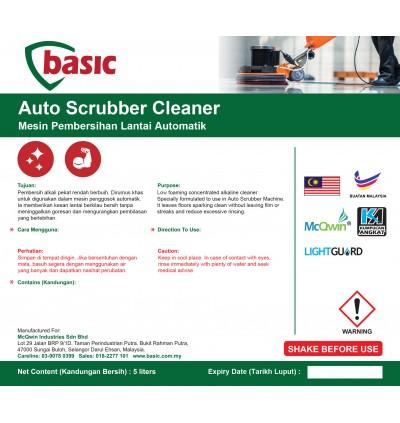 McQwin Basic Auto Scrubber Cleaner